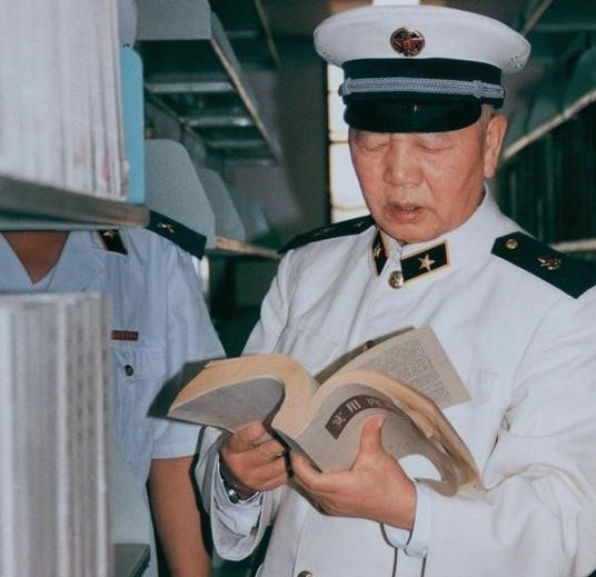 刘华清的读书与学习