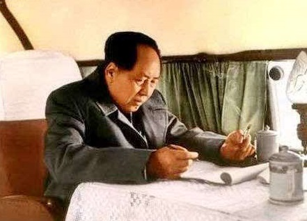 毛泽东首次乘专机视察记