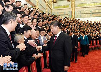 习近平会见全国道德模范代表