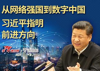 图解:从网络强国到数字中国