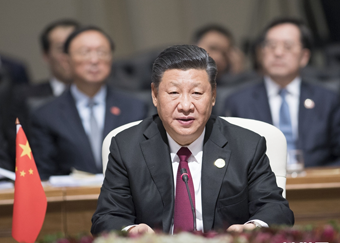 习近平出席金砖国家领导人第十次会晤